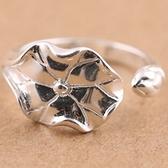 925純銀戒指-生日母親節禮物荷花唯美女飾品73ae47【巴黎精品】
