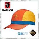 【BLACKYAK 韓國 女 GORE-TEX撞色棒球帽《橘》】BY161WAJ0114/防水帽/鴨舌帽/遮陽