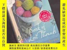 二手書博民逛書店Book罕見of Lost Threads【433】Y10970