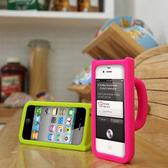 iphone 4 4s 炫酷彩色杯 矽膠