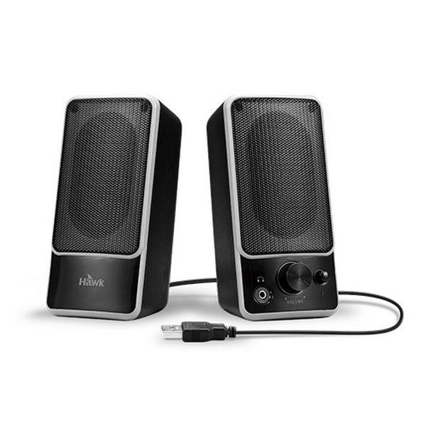 [ 中將3C ]  Hawk S1兩件式多媒體喇叭  08-HTS001BK