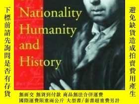 二手書博民逛書店Herder罕見On Nationality, Humanity, And History-論民族、人文與歷史的牧