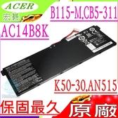 ACER 電池(原廠)- AC14B8K,TMB115,B115-M,B115-MP,NE511,NE512,P249,A515-41G,A515-51G,A515-52,A515-52G
