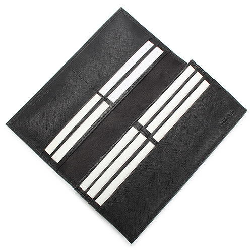 CalvinKlein  經典鐵牌LOGO防刮多卡長夾禮盒(黑色-含帕巾)103047