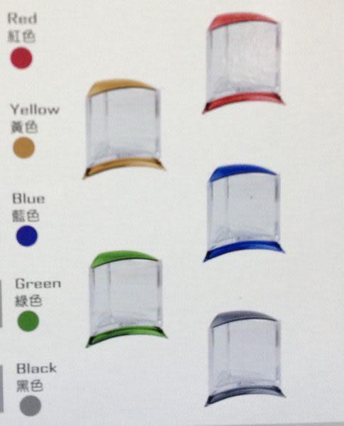 【西高地水族坊】ISTA代理 摩登造型鬥魚杯/鬥魚缸(高透明壓克力材質) 可堆疊-五種顏色(藍色)