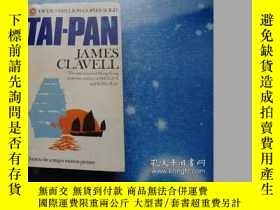 二手書博民逛書店TAI-PAN罕見JAMES CLAVELLY253607 JAMES CLAVELL Delacorte P