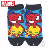 復仇者聯盟  鋼鐵人X蜘蛛人直板襪 船襪 ML-A541 MARVEL ~DK襪子毛巾大王