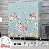 簡易小衣櫃單人宿舍布衣櫃鋼管加粗加固布藝衣櫥櫃簡約現代經濟型YS 【限時88折】