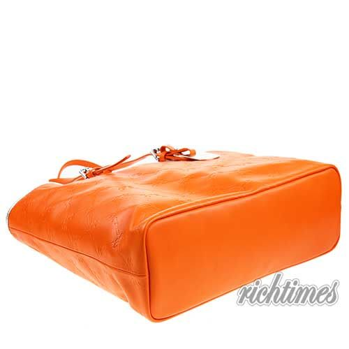 【裕代 LONGCHAMP】LM Cuir 系列托特包 - 橙色 LC0C6216