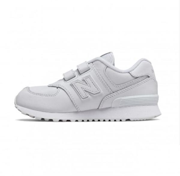 New Balance 4-7歲童鞋白色運動鞋-NO.YV574ERM