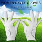 女士高爾夫手套進口納米超纖布柔軟舒適抗菌耐磨水洗不變 【快速出貨】