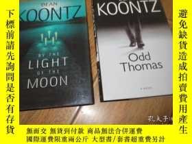 二手書博民逛書店dean罕見koontz odd Thomas+dean koo