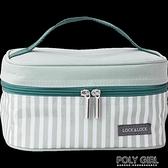 樂扣樂扣保溫便當包拎飯盒袋子帶飯午餐鋁箔帆布學生上班手提加厚  夏季新品