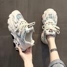 老爹鞋 歐貨老爹鞋女潮夏季新款歐洲站超火百搭運動鞋女夏透氣鞋-Ballet朵朵