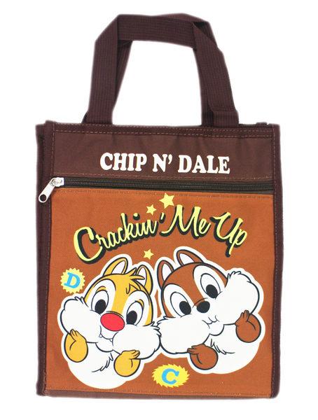 【卡漫城】 奇奇蒂蒂 手提袋 拖腮 ㊣版 Chip n Dale 餐袋 便當袋 手提包 禮物 才藝袋 松鼠 花栗鼠