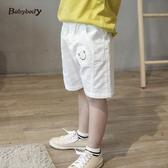 童裝男童夏裝2019新款薄款白色短褲中小童寶寶男孩夏季兒童褲子潮