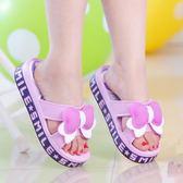 可愛夏季女款加高中坡跟涼拖鞋家居浴室 LQ1933『科炫3C』
