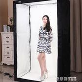 攝影棚配件 DEEP專業LED200CM攝影棚套裝服裝人像柔光箱攝影燈箱拍照器材道具 igo 歐萊爾藝術館