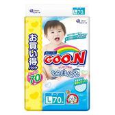 日本境內GOO.N 大王-阿福狗特規增量版黏貼型紙尿褲L 210片(70x3包/箱)-廠商直送 大樹