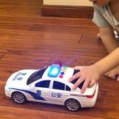 兒童玩具警車3-6歲出租車的士小汽車男孩寶寶玩具慣性車耐摔模型