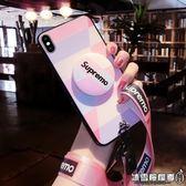 ins風蘋果x手機殼新款iPhone7plus女款網紅明星情侶同款8個性創意潮流保護套p硅膠全包防摔8x時尚