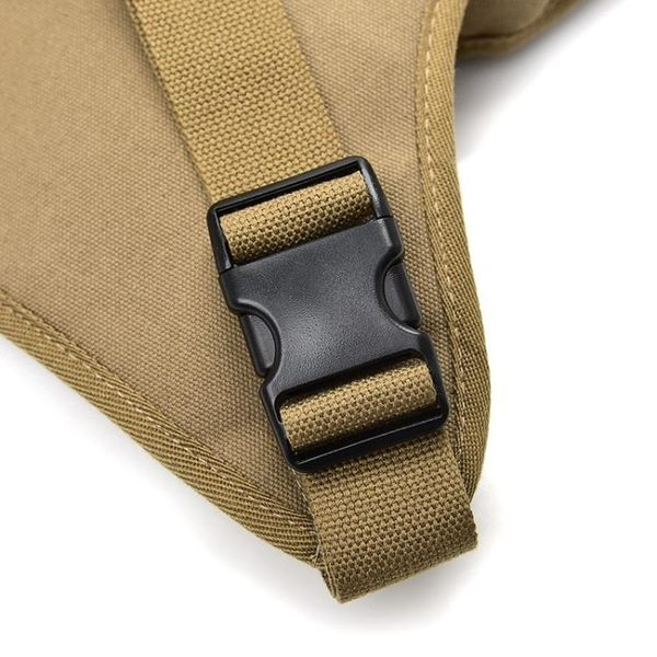 騎行帆布腰腿包 戶外戰術多功能腿包 潮男包休閒運動腰包