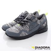 【DIADORA】義大利國寶鞋-織網設計慢跑鞋-DA6AMC3788-灰-男段(現貨)