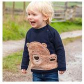 男童 純棉長袖T恤-玩偶熊
