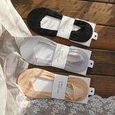 3雙襪子夏天防過敏隱形船襪網紗棉底透氣純色襪子淺口薄女士短襪 琉璃美衣