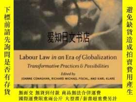 二手書博民逛書店【罕見】2004年出版 Labour Law In An Era