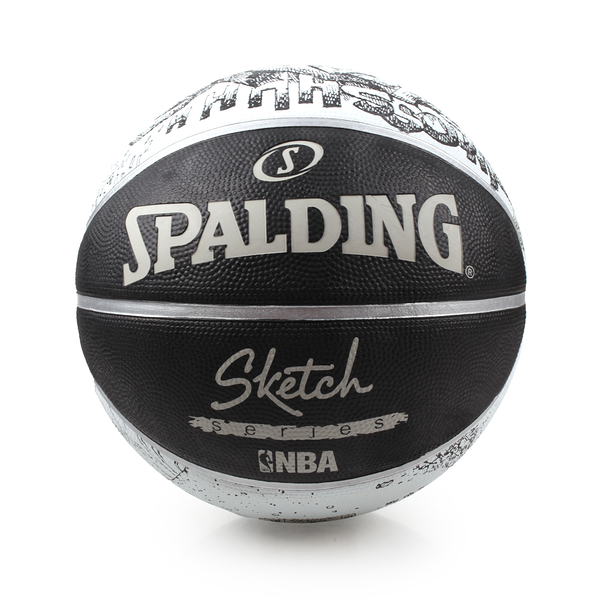 SPALDING 街頭素描-Rubber 籃球 (7號球 斯伯丁 NBA≡體院≡ SPA83534