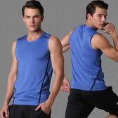 中大尺碼 夏季跑步無袖速干衣大碼寬松籃球背心透氣潮帥運動健身服 sxx471 【衣好月圓】