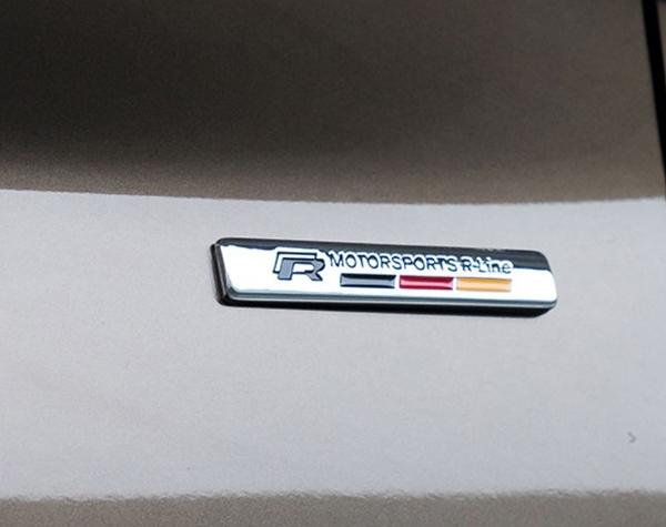 VW 金屬標 貼紙 車貼polo golf tiguan Beetle passat jetta GTI T-CROSS