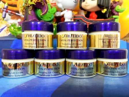 SHISEIDO 資生堂 全效抗痕緊顏白金霜7ml~優惠價:350元全新盒裝百貨專櫃正品