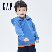 Gap男幼童 活力亮色連帽休閒上衣 661675-藍色