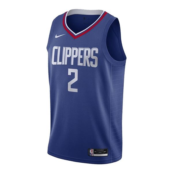NBA LAC SWGMNKawaii Leonard Rush球衣CW3668402 藍