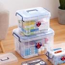 收納盒多層藥箱家庭裝藥品小醫藥箱家用大容...