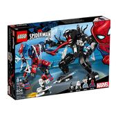 【LEGO 樂高 積木】LT-76115 超級英雄 Super Heroes 蜘蛛機甲對決猛毒Spider Mech vs. Venom (604pcs)