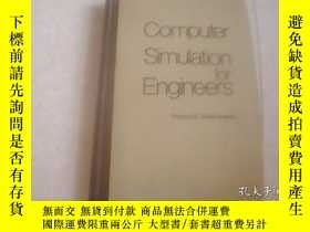 二手書博民逛書店COMPUTER罕見SIMULATION FOR ENGINEERSY12012 Robert E.Steph