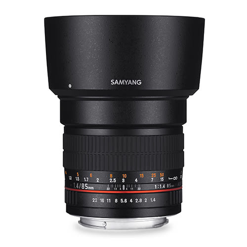 ◎相機專家◎ SAMYANG 85mm F1.4 AE for Canon EF 手動鏡 正成公司貨 保固一年