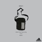 IMPACT Adidas 3 Stripes Organizer Bag 黑 三線 腰包 斜背包 側背包 CG1537