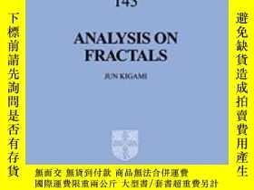 二手書博民逛書店Analysis罕見On Fractals (cambridge Tracts In Mathematics)