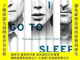 二手書博民逛書店Before罕見I Go To Sleep Movie Tie-in Edition:A NovelY4499