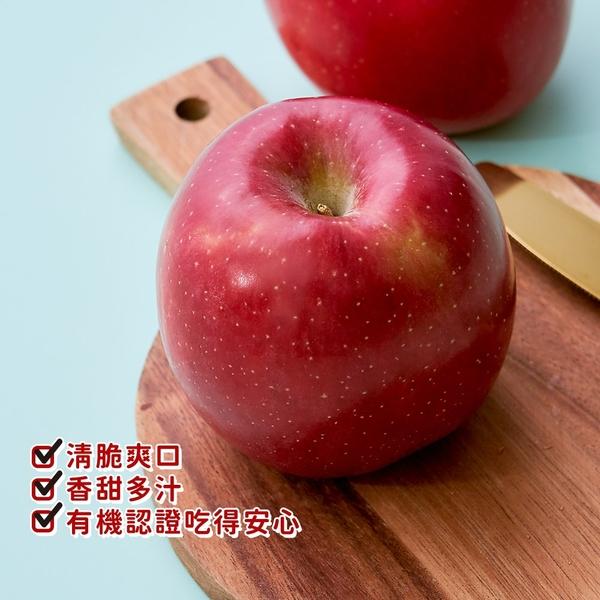 【愛不囉嗦】陽光國際 有機富士蘋果禮盒 ( 6粒裝 )