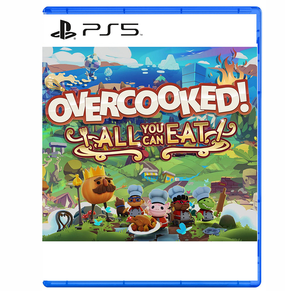 PS5 煮過頭 吃到飽 Overcooked All You Can Eat 中文版 1+2 【預購2020】