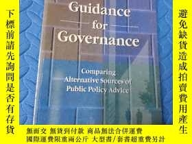 二手書博民逛書店guidance罕見for governance compari