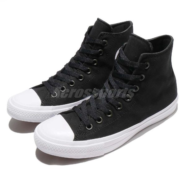 Converse 帆布鞋 Chuck Taylor All Star II Signature 黑 白 基本款 2代 男鞋 女鞋 【PUMP306】150143C