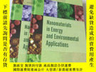 二手書博民逛書店Nanomaterials罕見in Energy and Env