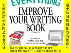二手書博民逛書店The罕見Everything Improve Your Writing BookY410016 Pamela
