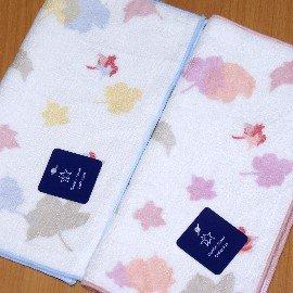 【衣襪酷】雙星 楓葉紅 純棉 雙面印花小方巾《小手巾/方巾/手帕/口水巾/童巾/双星/Gemini》